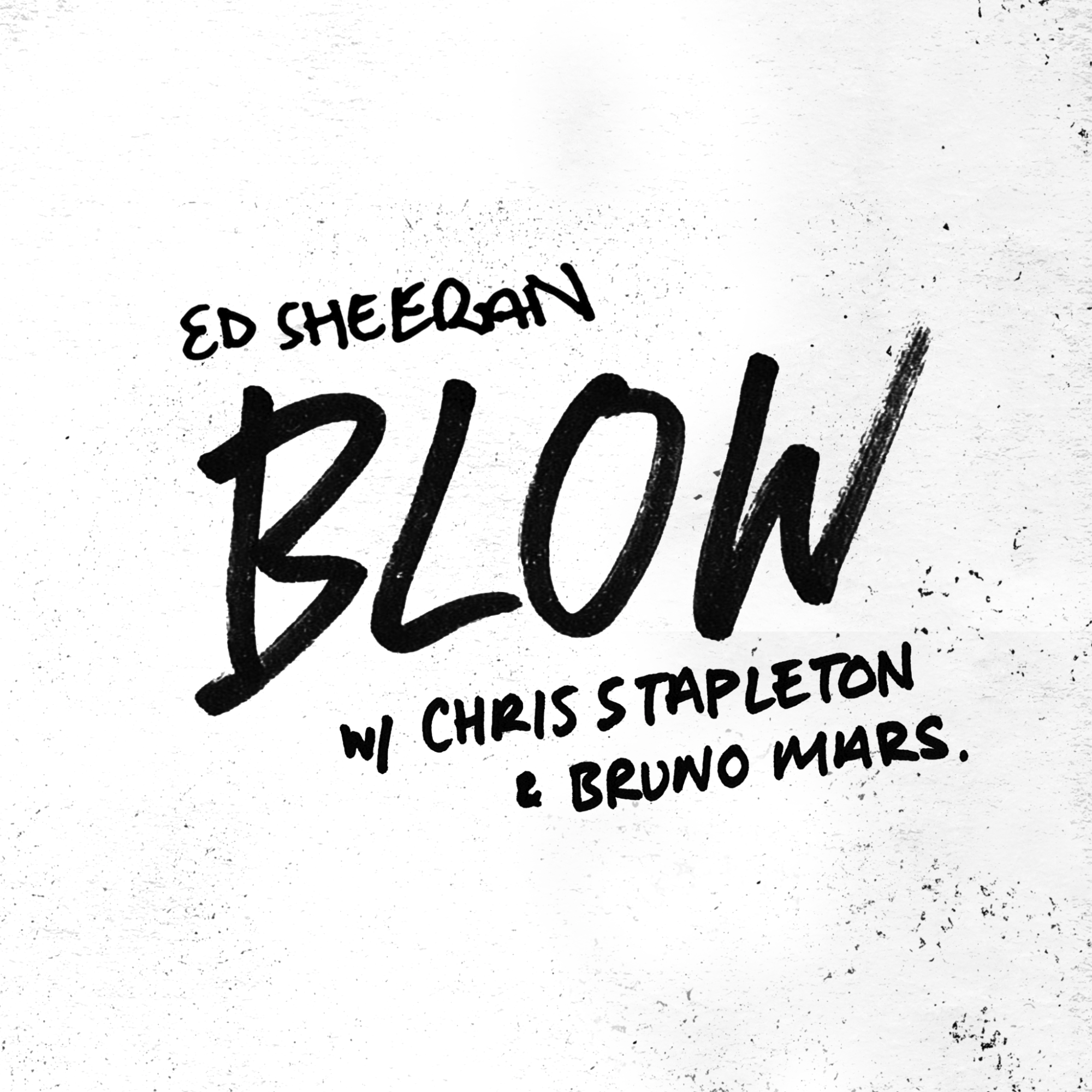 "ED SHEERAN UNVEILS OFFICIAL VIDEO FOR ""BLOW"" WITH CHRIS STAPLETON & BRUNO MARS"