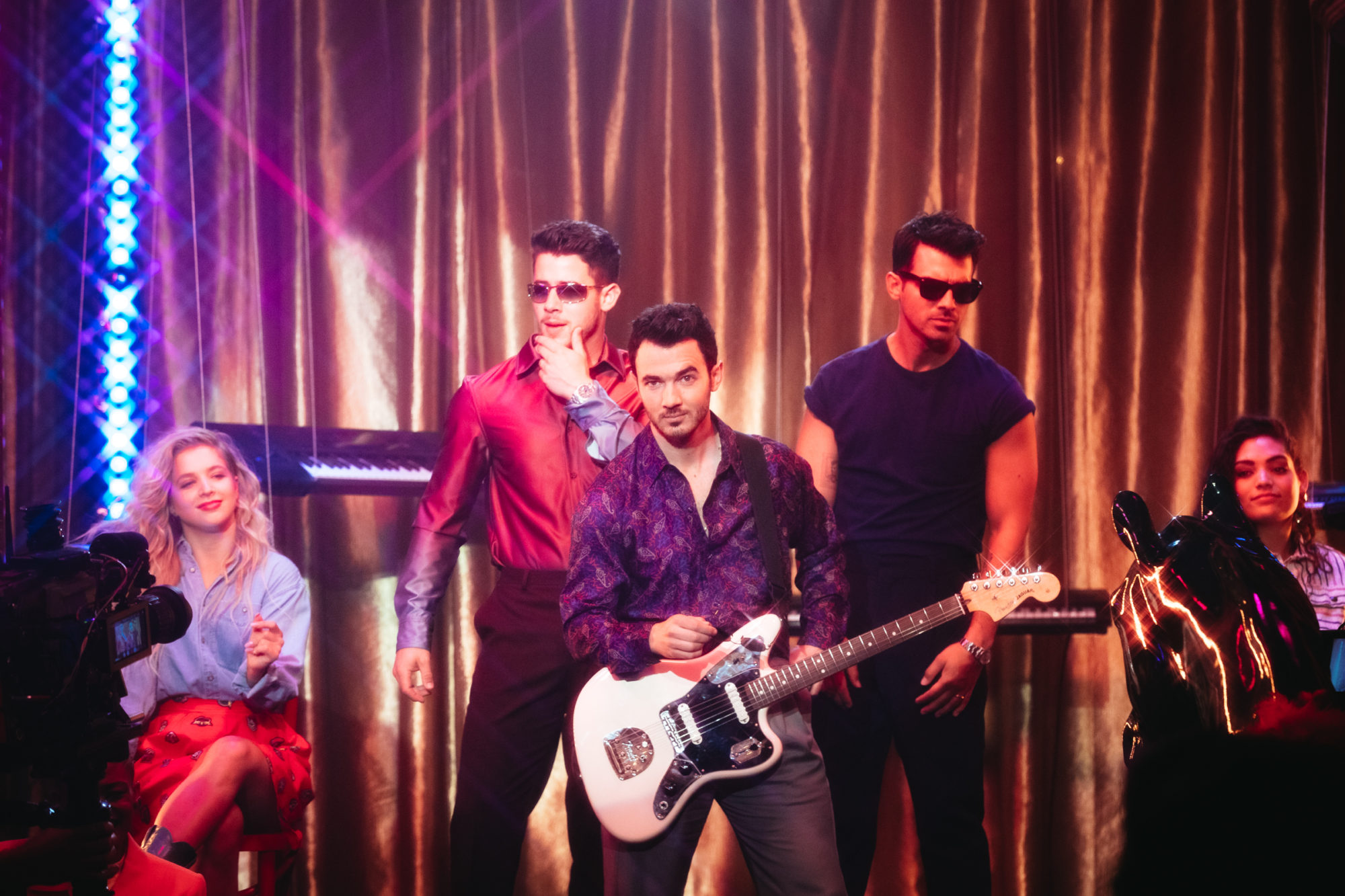 "JONAS BROTHERS RELEASE MUSIC VIDEO FOR NEW SINGLE ""ONLY HUMAN"""