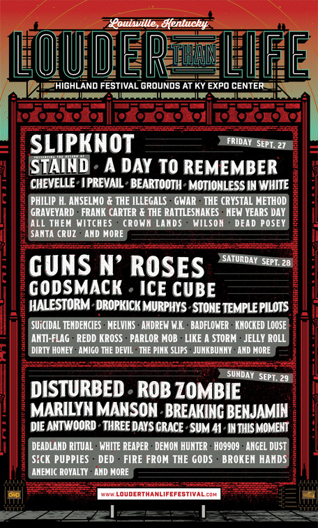 Louder Than Life–World's Largest Rock 'N' Roll Whiskey Festival–Announces Onsite Experiences, Full Bourbon Lineup & Food Offerings For Sept. 27-29 In Louisville, KY