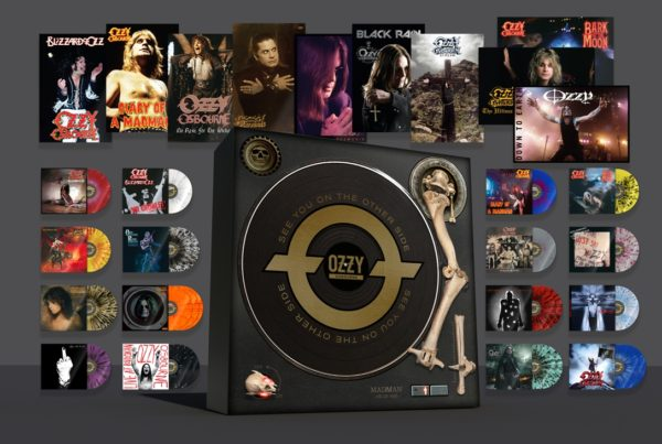 Definitive OZZY OSBOURNE Vinyl Box Set 'See You On The Other Side' Out November 29