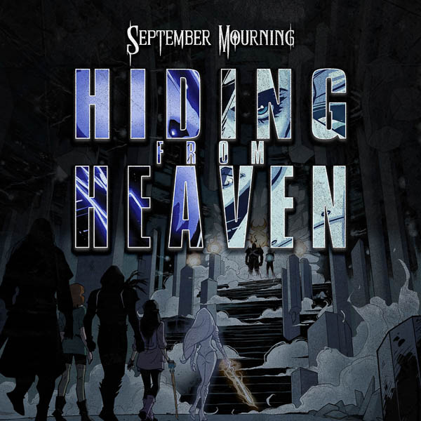 September Mourning game for battle with animated 'Hiding From Heaven' video, Fall Tour