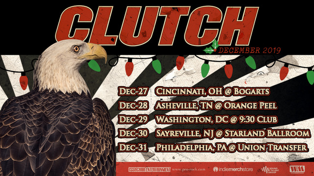 CLUTCH ANNOUNCE ANNUAL US HOLIDAY RUN TOUR DATES