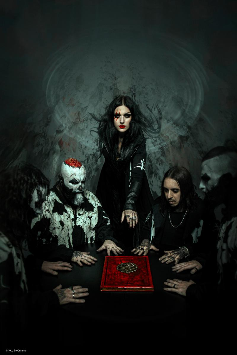 """LACUNA COIL PREMIERE NEW SINGLE """"SAVE ME"""" FROM BLACK ANIMA WITH BILLBOARD"""