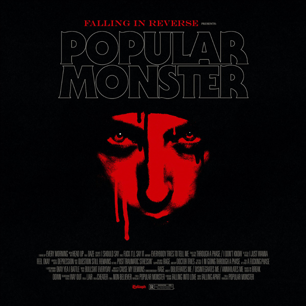"""FALLING IN REVERSE DROP NEW SONG + VIDEO """"POPULAR MONSTER"""""""