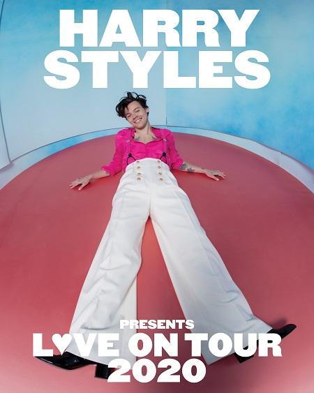 HARRY STYLES ANNOUNCES 2020 WORLD TOUR; 'LOVE ON TOUR' KICKS OFF APRIL 2020