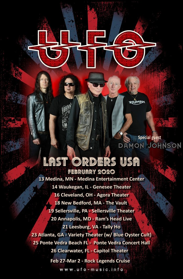 UFO to Continue Last Orders Tour in 2020