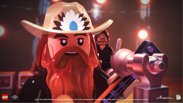 """Chris Stapleton unveils music video made in collaboration with The LEGO Group for """"Second One To Know"""""""