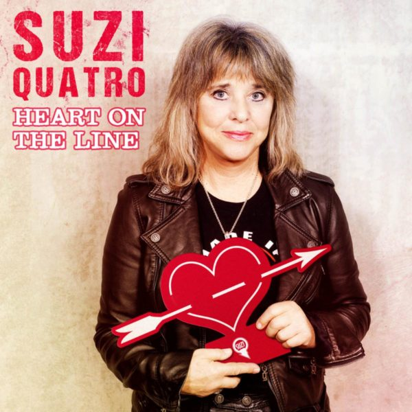 SUZI QUATRO Releases New Single 'Heart On The Line'