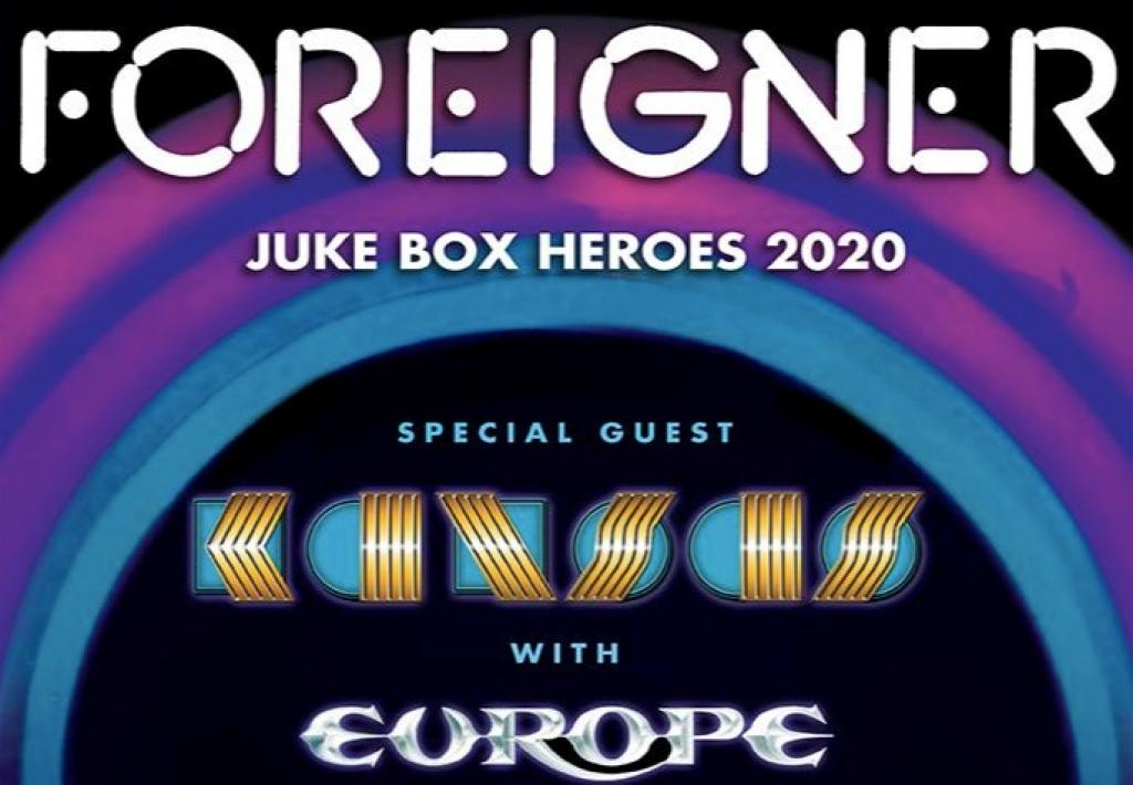FOREIGNER, SPECIAL GUEST KANSAS, AND FEATURING EUROPE SET TO LAUNCH JUKE BOX HEROES 2020 TOUR