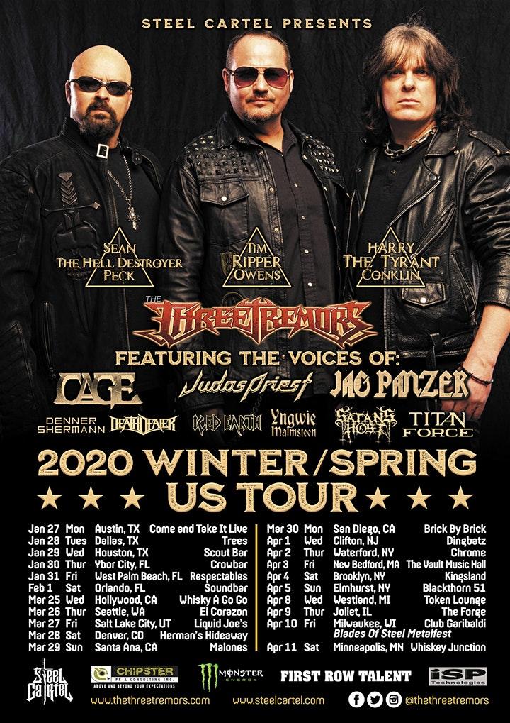 The Three Tremors US Tour Update