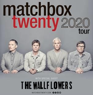 MATCHBOX TWENTY ANNOUNCES 2020 SUMMER TOUR