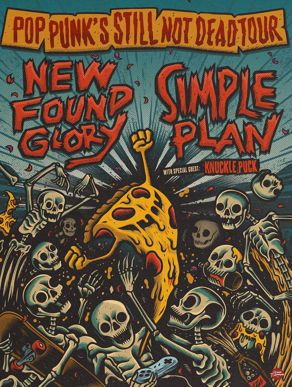 New Found Glory to Hit the Road with Simple Plan This Summer – Pop Punk's Still Not Dead Tour