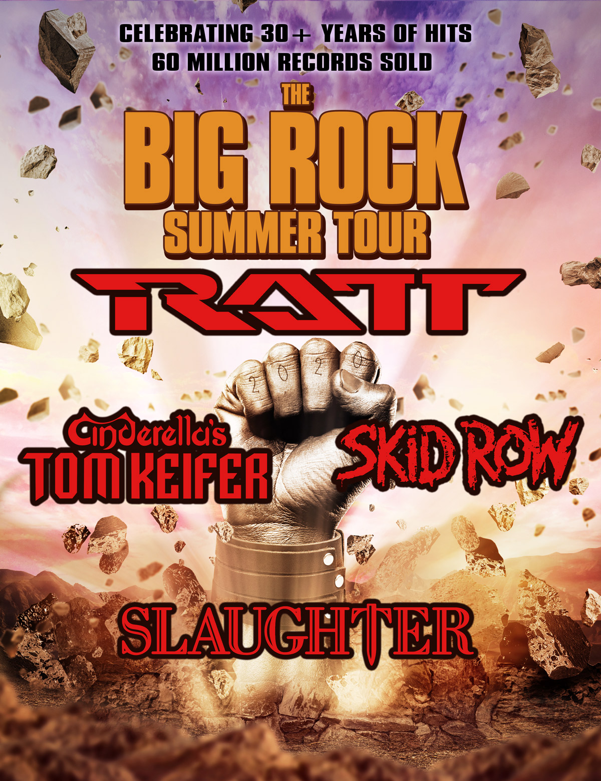 "RATT, Tom Keifer, Skid Row, and Slaughter Will Hit The Road on ""The Big Rock Summer Tour"""