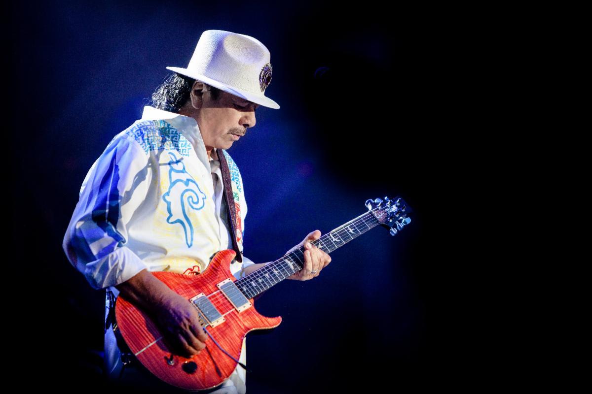 Carlos Santana Cancels European Tour Dates Due To Public Health Concerns