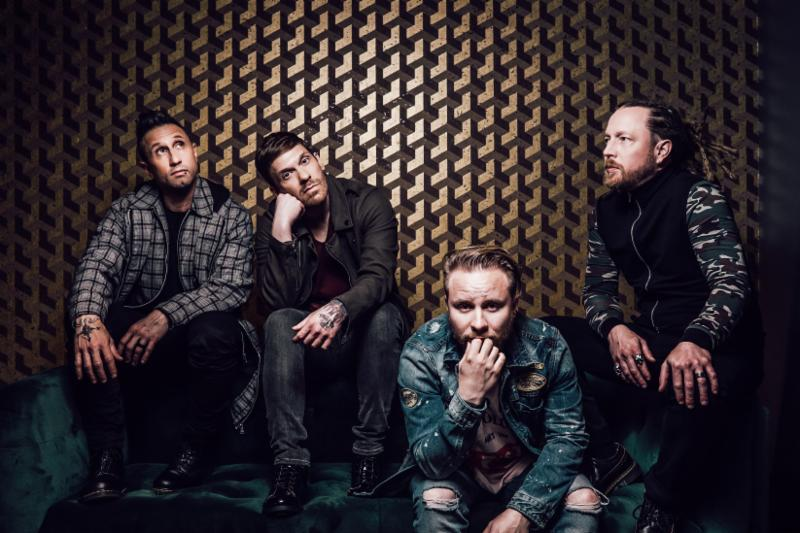 """Shinedown Partners With Direct Relief To Donate All Proceeds From """"Atlas Falls"""" T-Shirt with Song Download"""