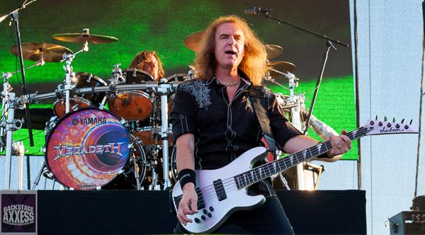 David Ellefson (Megadeth) Interview