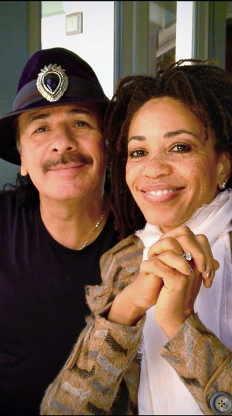 Cindy Blackman Santana & Carlos Santana Help Launch SongAid