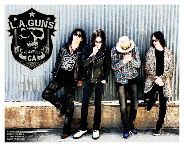 L.A. GUNS TO RELEASE NEW SINGLE  'WELL OILED MACHINE'