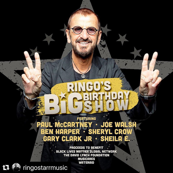 Ringo Starr's 80th birthday Show info