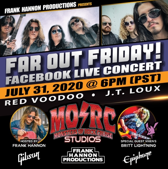 Frank Hannon Productions announces FAR OUT FRIDAY!