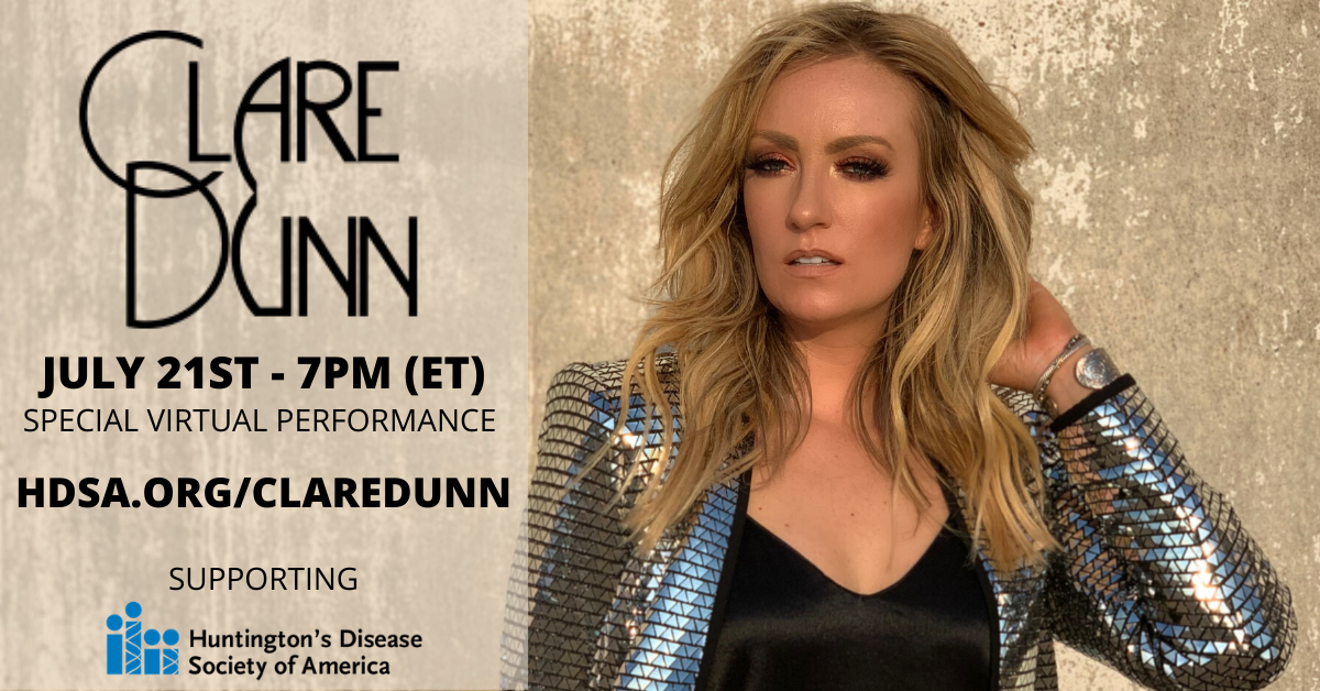 Clare Dunn Virtual Show  July 21st