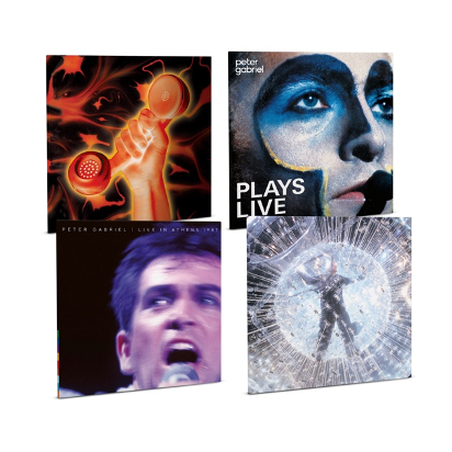 Peter Gabriel Classic concerts released on vinyl