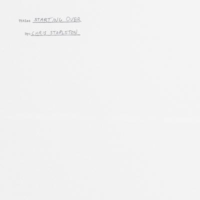 """CHRIS STAPLETON DEBUTS MUSIC VIDEO FOR """"STARTING OVER"""""""