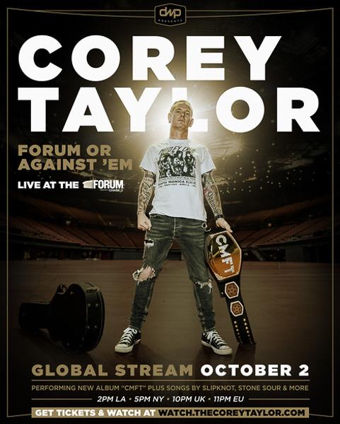 Corey Taylor Announces  FORUM OR AGAINST 'EM