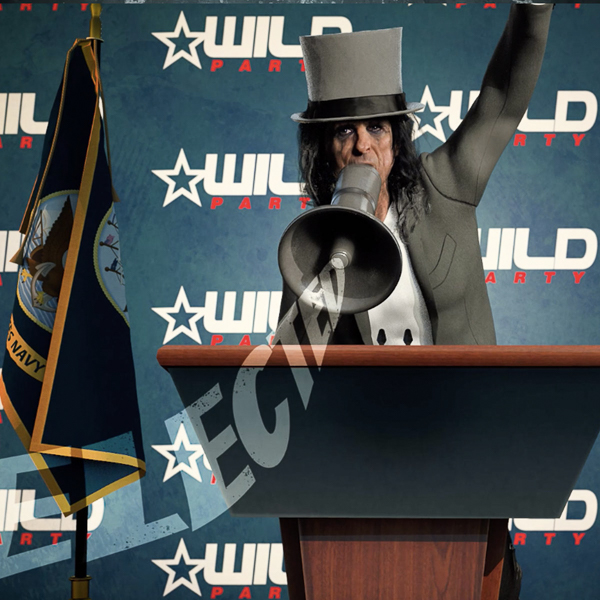 """ALICE COOPER RELEASES 2020 CAMPAIGN VIDEO FOR CLASSIC TRACK """"ELECTED"""""""