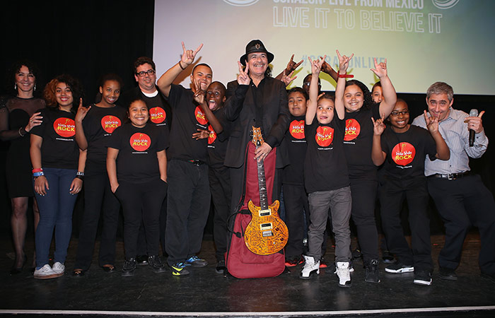 Carlos Santana's Milagro Foundation Launches Santana Scholars Program, Benefitting First-Generation College Students