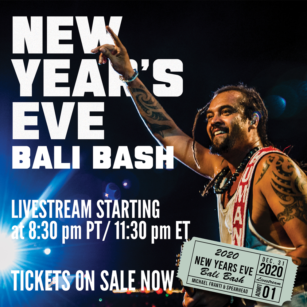 Michael Franti Says Goodbye to 2020 with a Lighter and a Special New Year's Eve Livestream