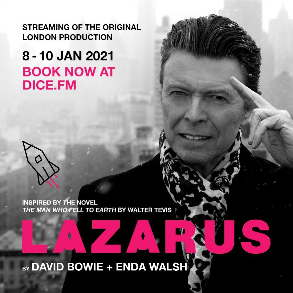 DAVID BOWIE: 'LAZARUS' STREAMING EVENT