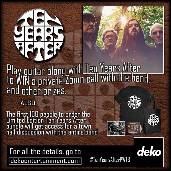 TEN YEARS AFTER WANTS TO HEAR YOU PLAY GUITAR!