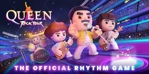 Queen Rock Tour – Become a rock legend with the first ever Official Queen game on mobile!