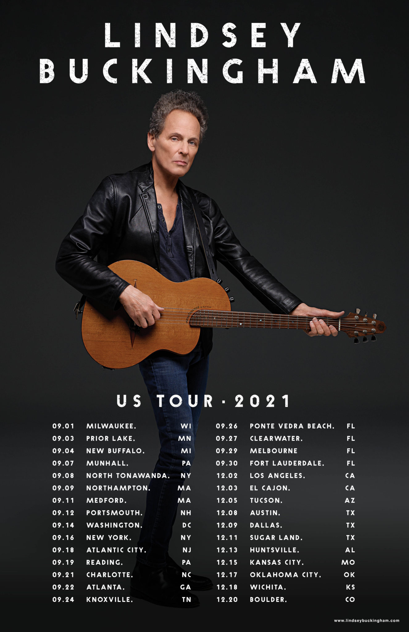 Lindsey Buckingham Announces New Solo Album and Fall Tour