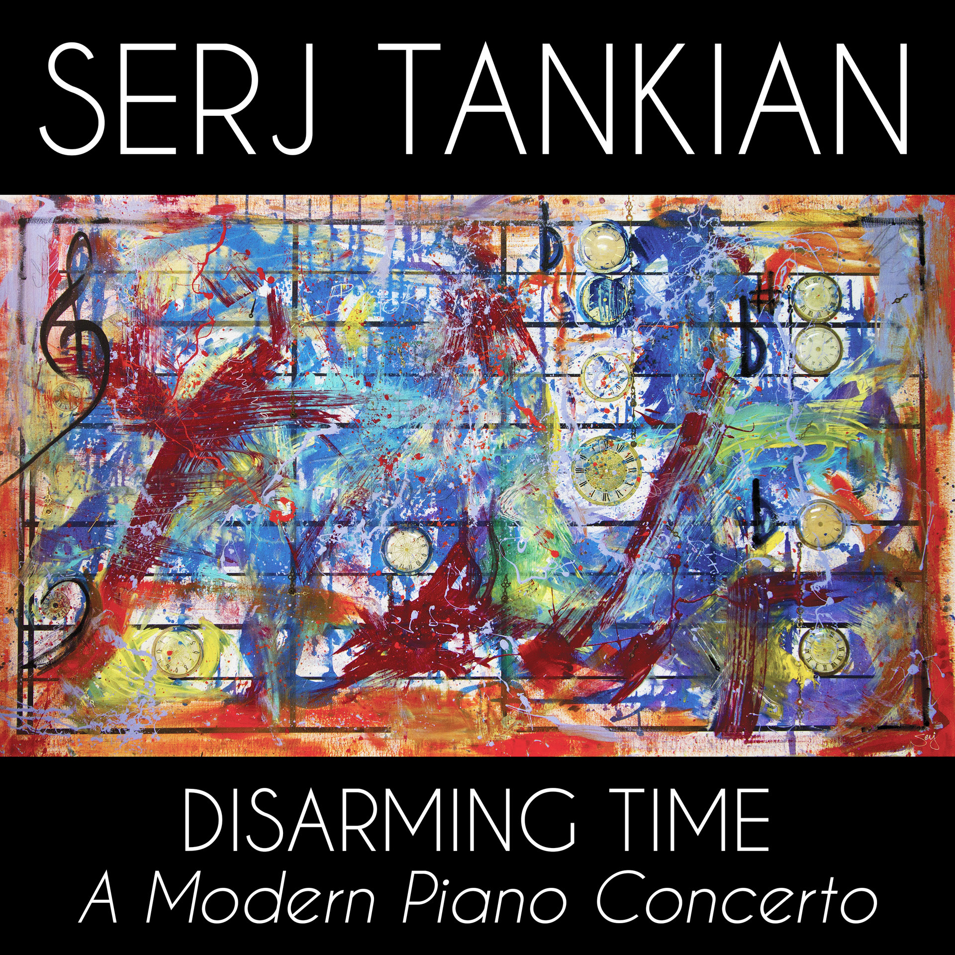 Serj Tankian Releases 24 Minute Modern Classical Epic: Disarming Time: A Modern Piano Concerto with Video