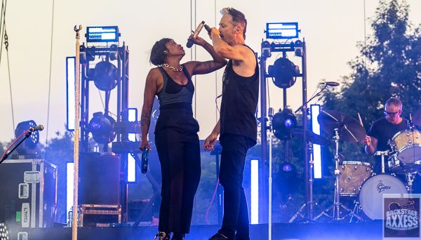Fitz and The Tantrums and Colony House @ Artpark Lewiston, NY 7-6-21