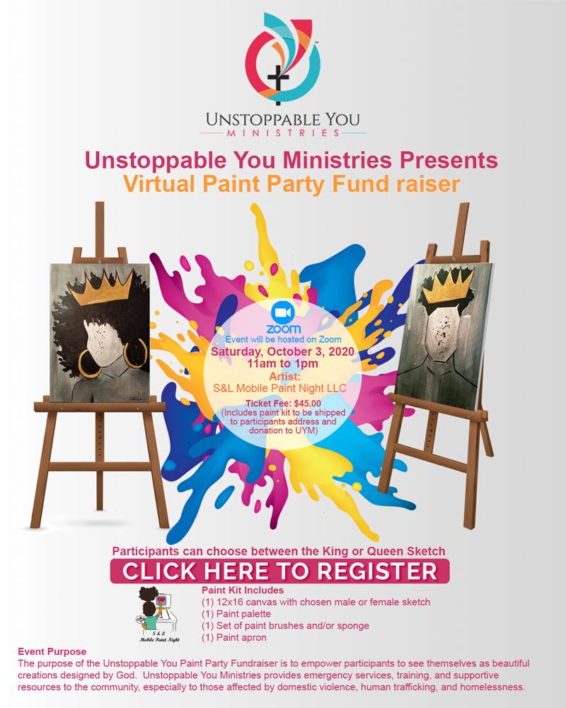 Virtual Paint Party Fundraiser