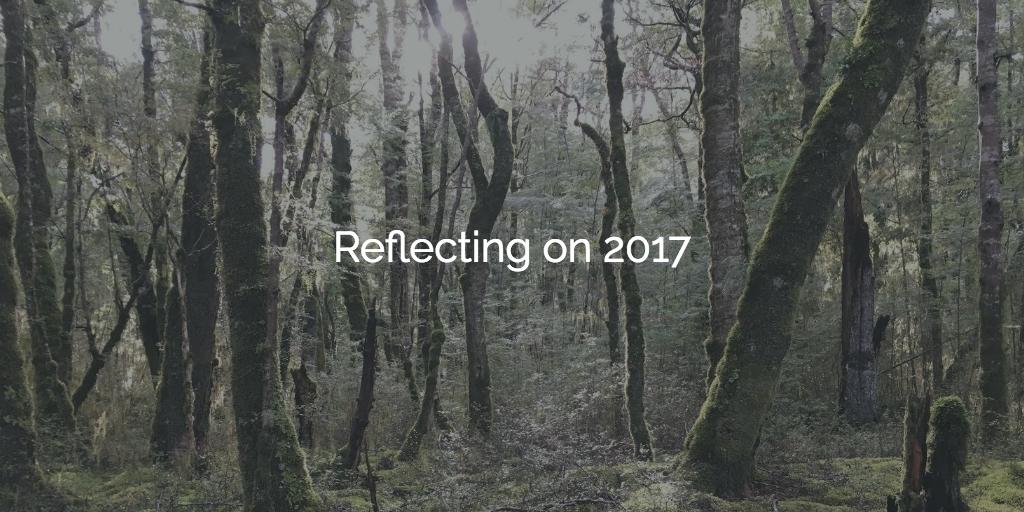 Reflecting on 2017