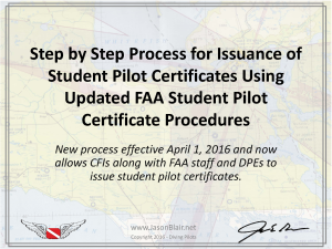 Step by Step Process for Issuance of Student Pilot Certificates Using Updated FAA Student Pilot Certificate Procedures_Page_01