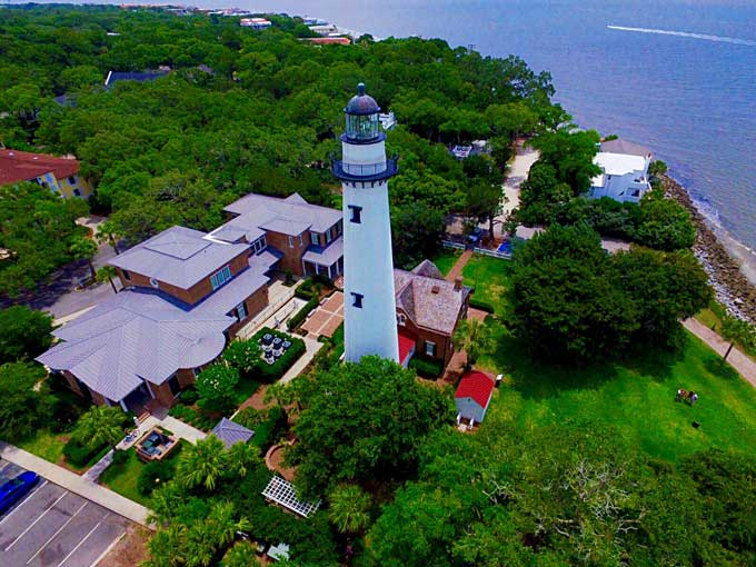 Aerial-view-of-the-lighthouse