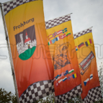 The Flags are flying in Frohburg Germany for the final round of the 2018 IRRC Championship