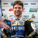 Cal Crutchlow enjoying a joke before FP1 at the Australian Grand Prix 2018