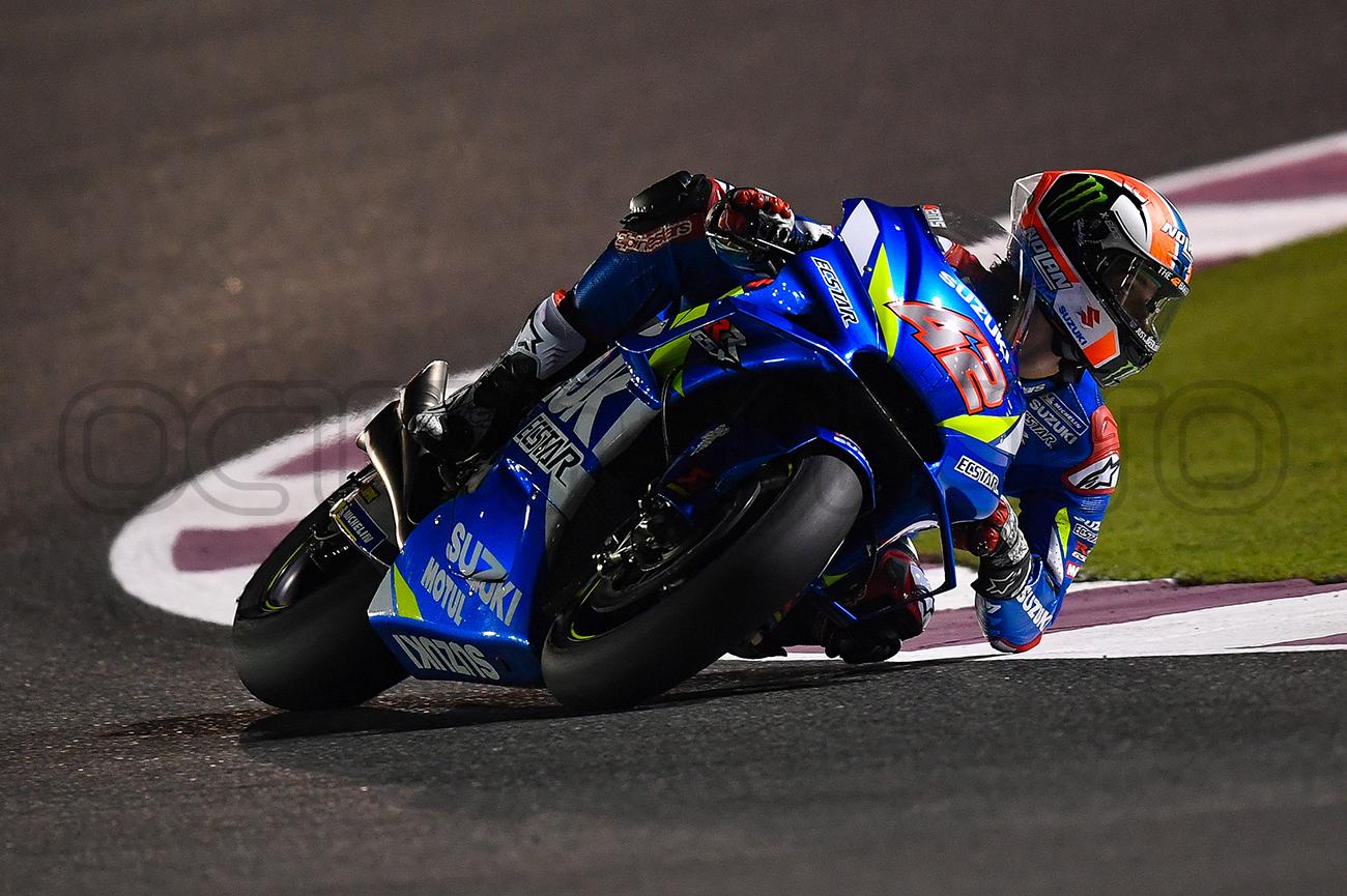 Alex Rinns during the Qatar MotoGP Test, 2019