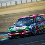 Chaz Mostert heads out of Honda during the Supercars Test, Phillip Island 2019