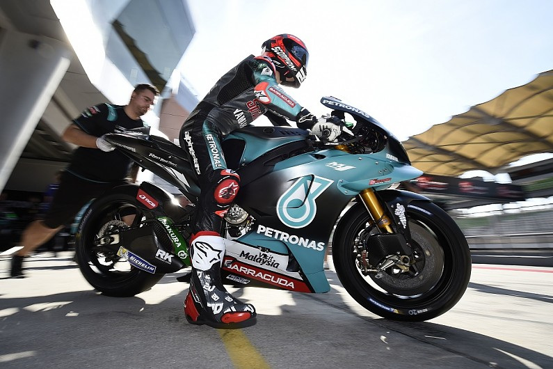 Fabio Quartararo testing at Sepang 2019