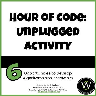 Title Slide Hour of Code: Unplugged Activity