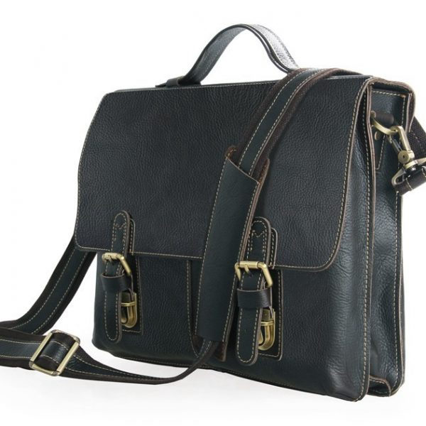 Genuine Cow Leather Briefcase