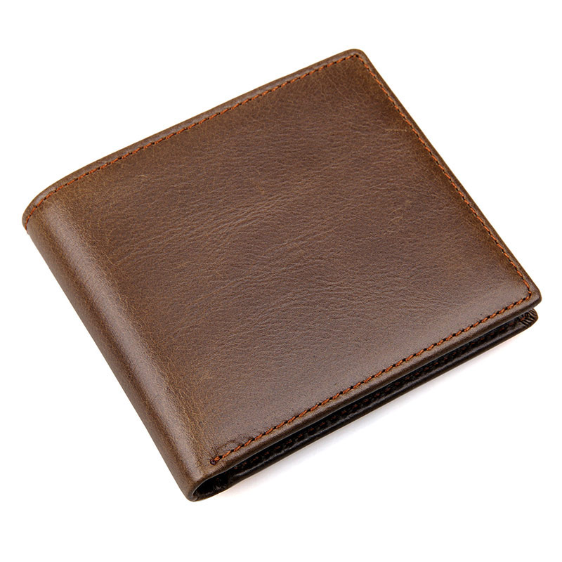 Cow Leather Wallet for Cash and Credit Cards