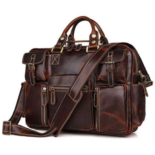 Leather Men's Briefcase